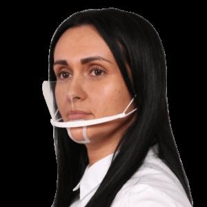 Mund Nasenschutz Plastik