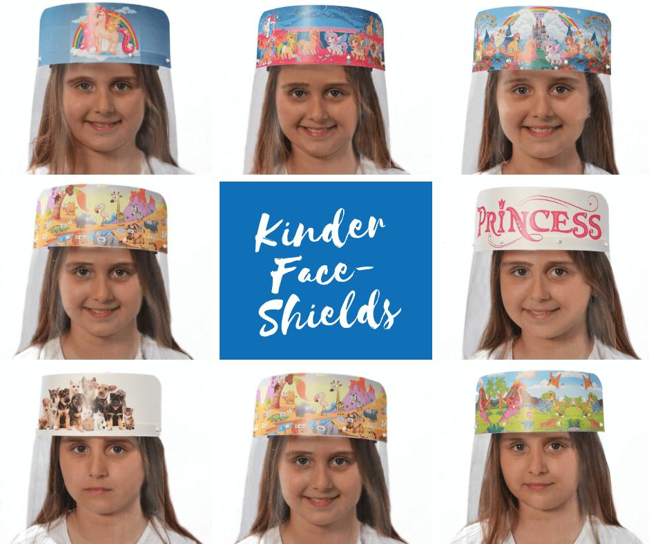 Face Shield Kinder